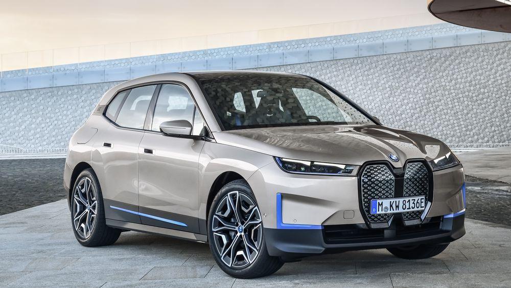 BMW iX er navnet på konseptbilen tidligere kalt iNext.