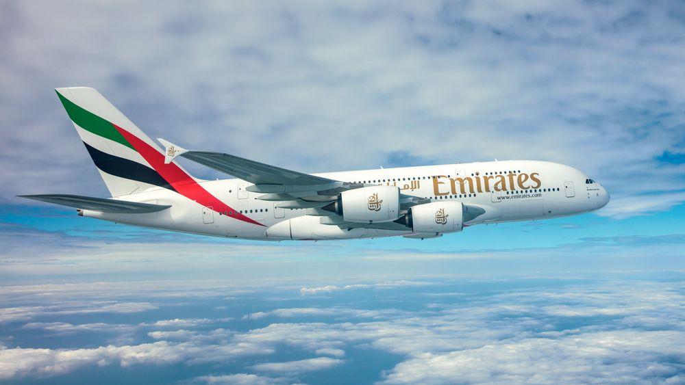 Emirates har 115 slike A380-800 i flåten.