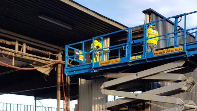 Construction City ombruk sirkulær økonomi riving af betonmast obos maria kristiansen siraj ulven stål betong verksted