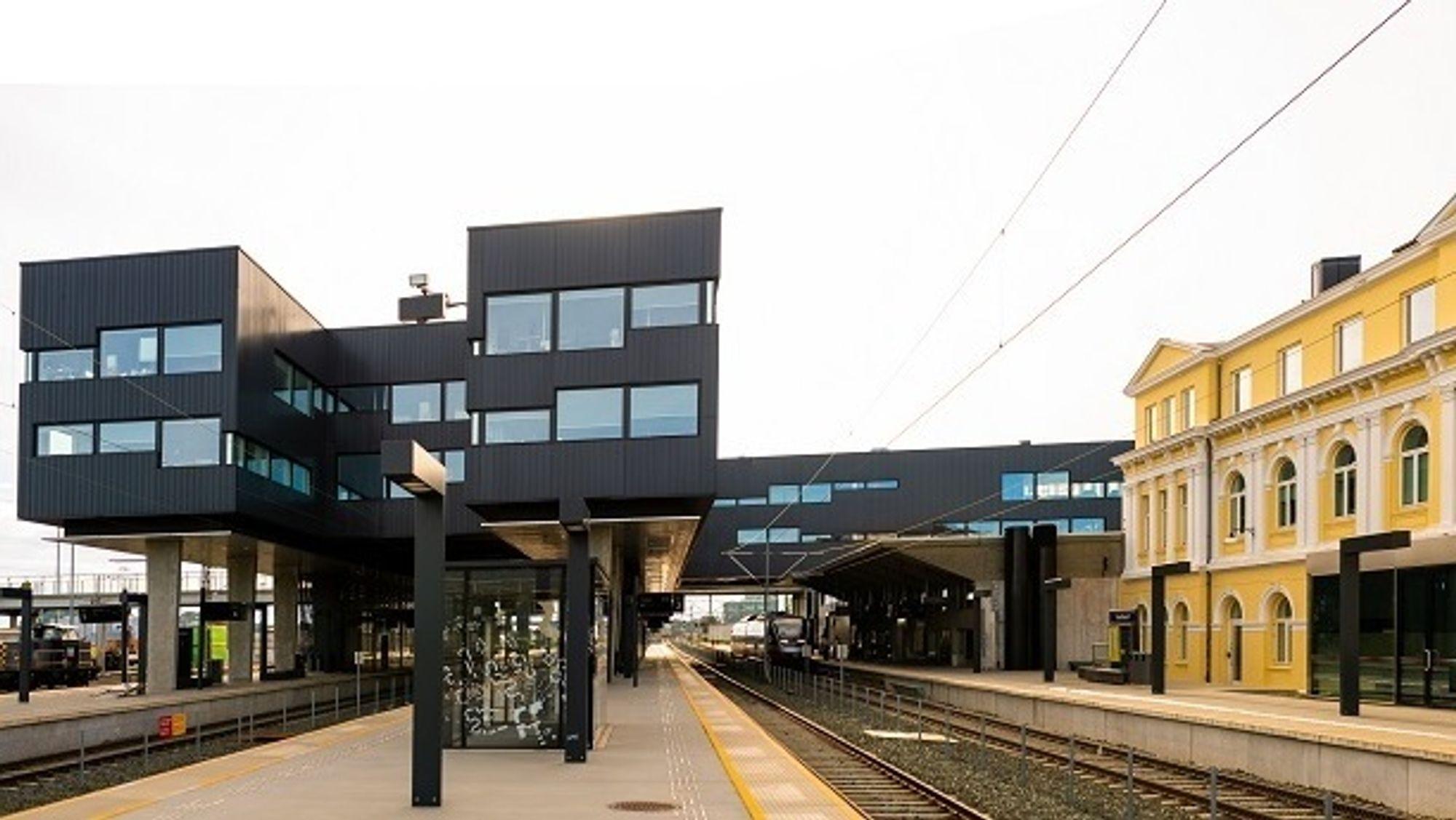 Arbeidssted for den nye driftssjefen er Banenor Eiendoms lokaler på Trondheims S.