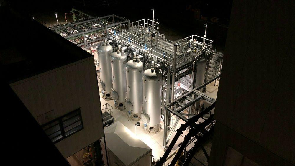 Svært: På tross av store dimensjoner er Cambis to nye kloakkrenseanlegg basert på selskapets patenterte prosess for termisk hydrolyse vesentlig mindre enn konkurrerende teknologi og gir bedre bioprodukter.