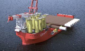Sanntids beslutningsstøtte forbedrer transport og installasjon av havvindparker
