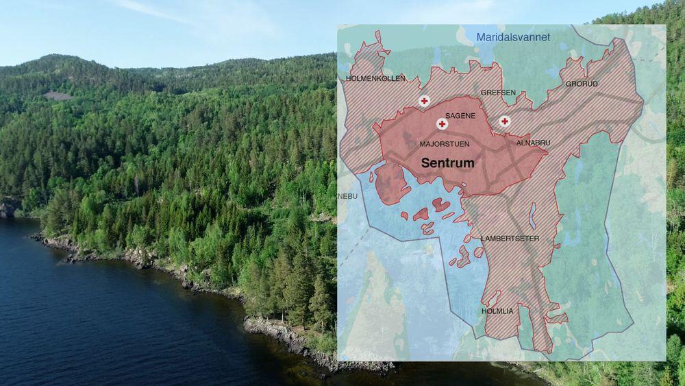 Uten den nye vannforsyningen fra Holsvannet vil Oslo innenfor Ring 3 være uten vann i løpet av tre til fire timer dersom det skjer noe med Maridalsvannet eller dagens vannrenseanlegg.