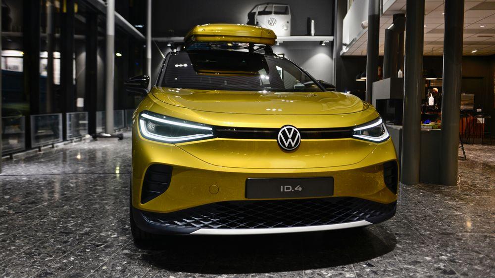Volkswagen ID.4 er den neste elbilen ut fra Volkswagen.