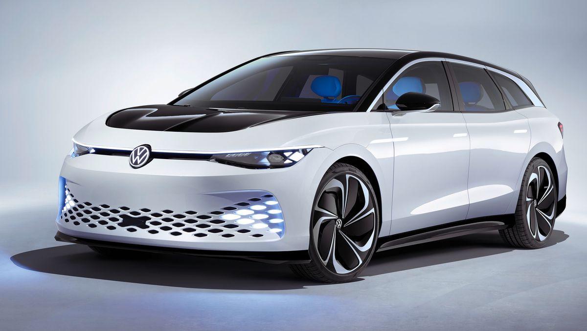 Volkswagen letter på sløret: Elektrisk stasjonsvogn med 5