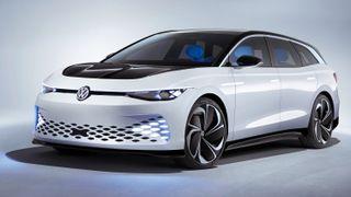 Konseptbilen hittil bare kjent som «Space Vizzion» heter angivelig Aero B Shooting Brake internt hos Volkswagen.