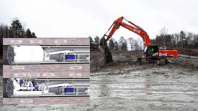 Tre tunnelboremaskiner skal sikre Oslo nytt drikkevann