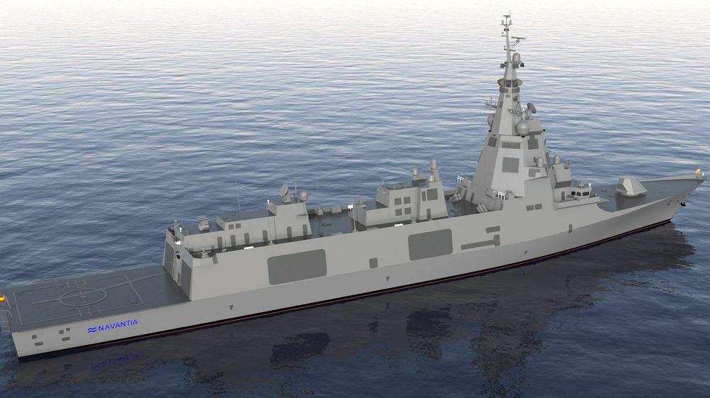 F110-fregattene ser til forveksling like ut som F100-familien som den norske Fridtjof Nansen-klassen er en del av.