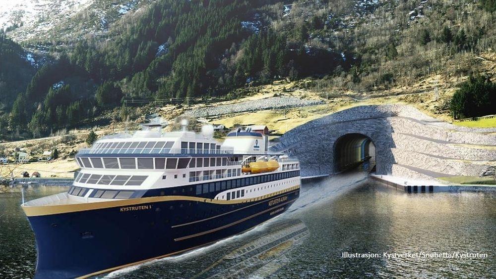 Havila Kystruten tror Stad skipstunnel vil bli en turistmagnet.