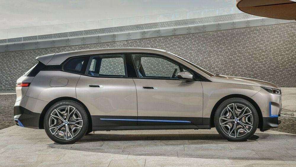 BMWs kommende elbilflaggskip iX.