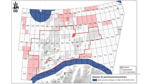 Lyste ut 125 nye oljeblokker i Barentshavet: Kun 7 oljeselskaper er interessert i nytt leteareal