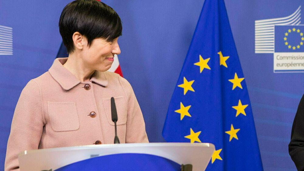 Utenriksminister Ine Marie Eriksen Søreide holdt forrige uke sin halvårlige redegjørelser i Stortinget om Norges forhold til EU.