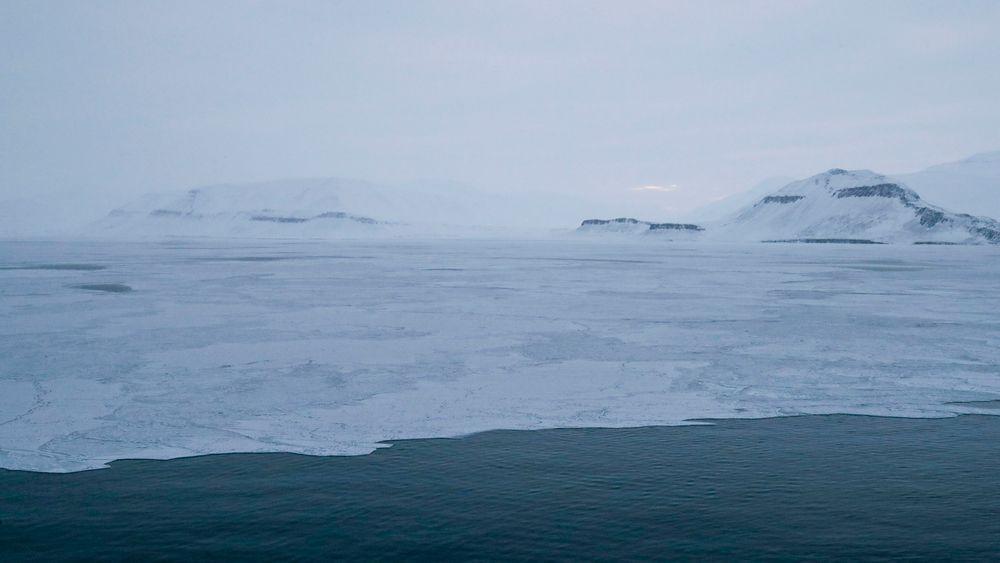 2019 ble det målt rekordhøye nivåer både av CO2 og av metan i atmosfæren over Norge. Her fra Svalbard.