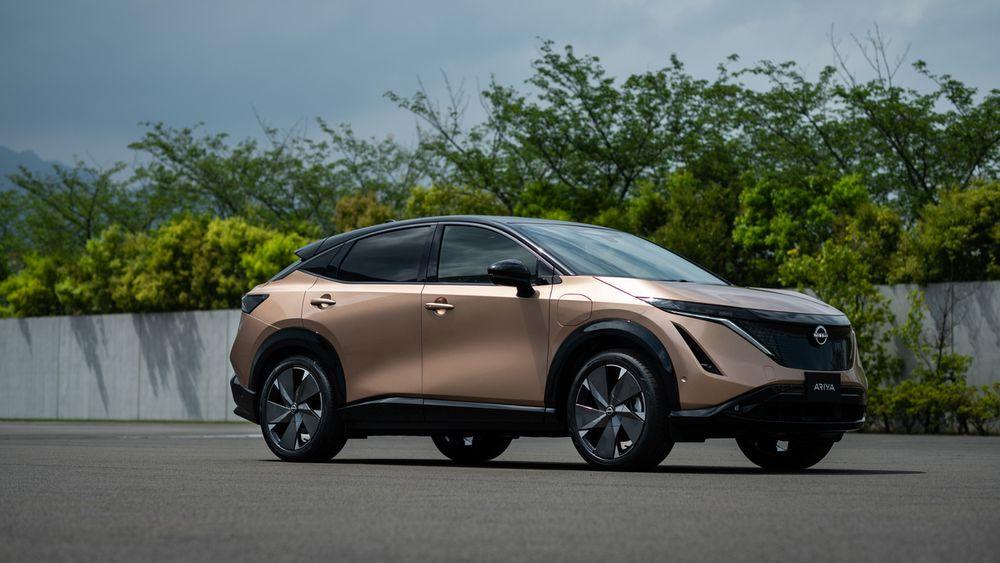 Nissan lanserte elbilen Ariya i sommer.