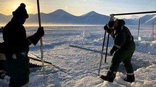 Her skal de avsløre isflakenes rolle i klimasystemet