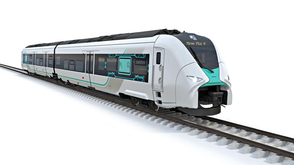 Будущий немецкий водородный поезд