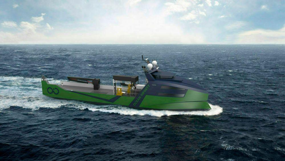 De nye Armada-skipene blir 78 meter lange og 15 meter brede - over dobbelt så store som fartøyene som ble bestilt tidligere i høst.