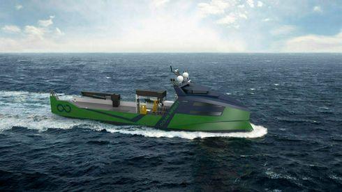 Vard skal bygge åtte fjernstyrte skip – klargjøres for ammoniakk