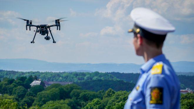 Politiet i hele landet får bruke droner