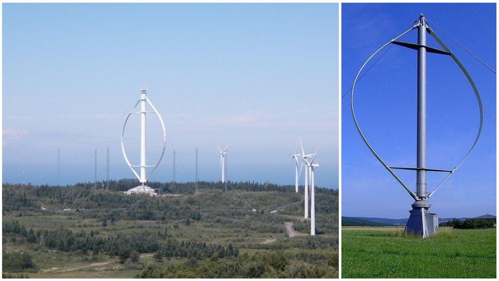 Hvorfor satser man ikke på vertikale vindturbiner?