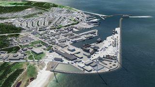 Stortinget vil ha vindkraft på industriområder, i havner og langs motorveier