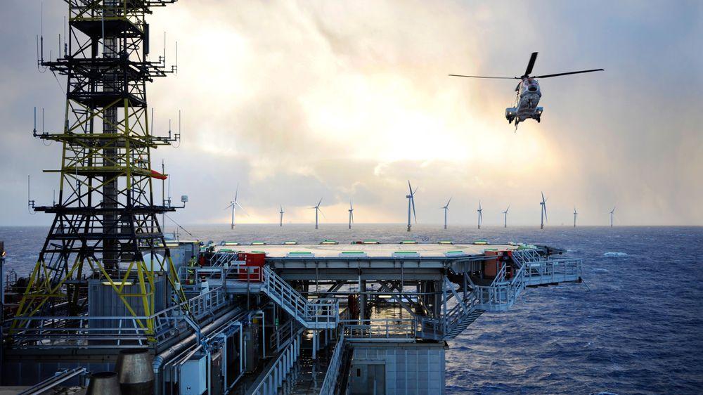 Havvind vil bli definert som grønt hvis strømmen leveres til land, men ikke hvis den går til en oljeplattform.