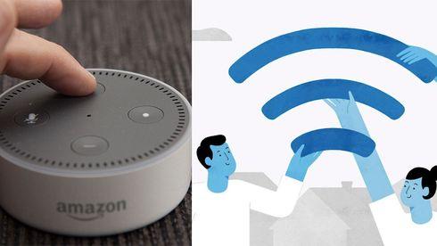 Amazon Echo er blant produktene som snart kan dele internettaksess i nabolaget.