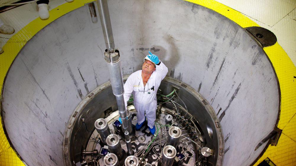 Bildet er fra atomreaktoren på Kjeller. Å rive atomanleggene på Kjeller kan koste opp mot 4 milliarder kroner.