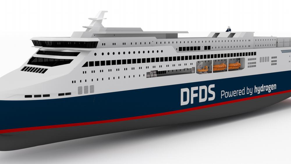 Et partnerskap med DFDS i spissen vil utvikle hydrogenferge mellom Oslo og København.