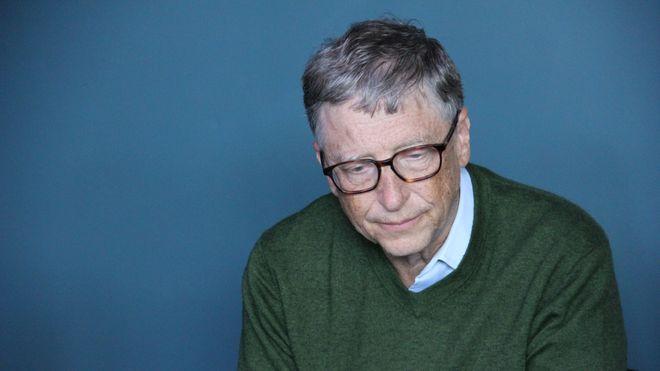 Bill Gates under 2018 Berkshire Hathaway Sunday.