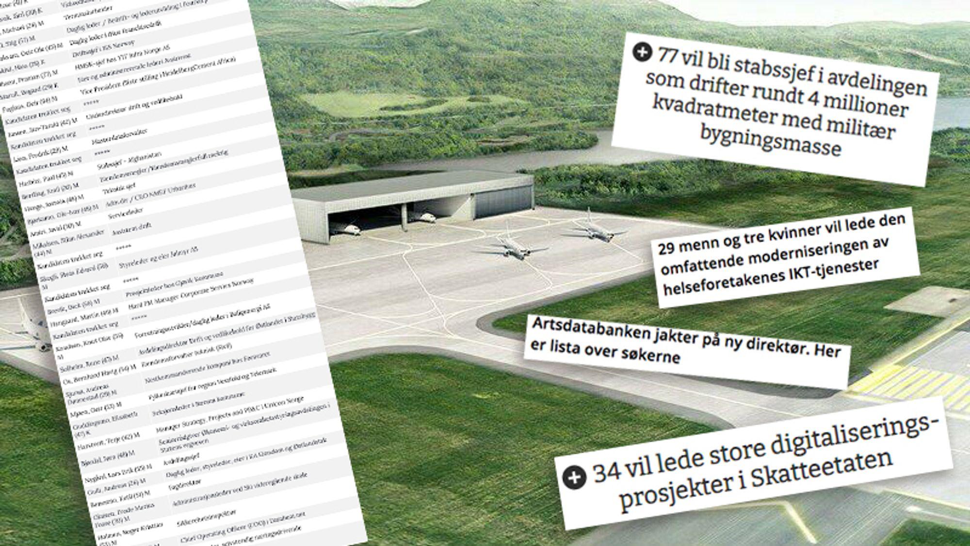 Siden mai i år har Karriere360° publisert saker om søkerlistene til offentlige stillinger i Teknologi-Norge for våre abonnenter. Her forklarer vi hvorfor.