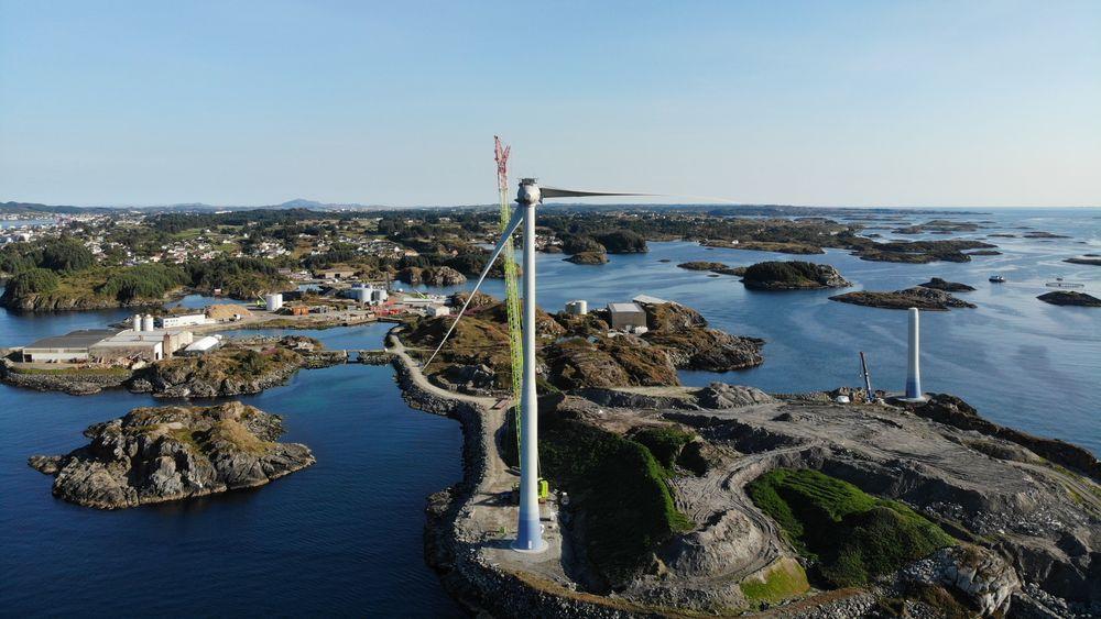 Vindkraft er den billigste måten å høste energi på i Norge nå, og er derfor den store jokeren, ifølge prosessindustrien.