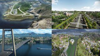 Disse 15 veiene koster mer enn 100 milliarder kroner– se landets største veiprosjekter
