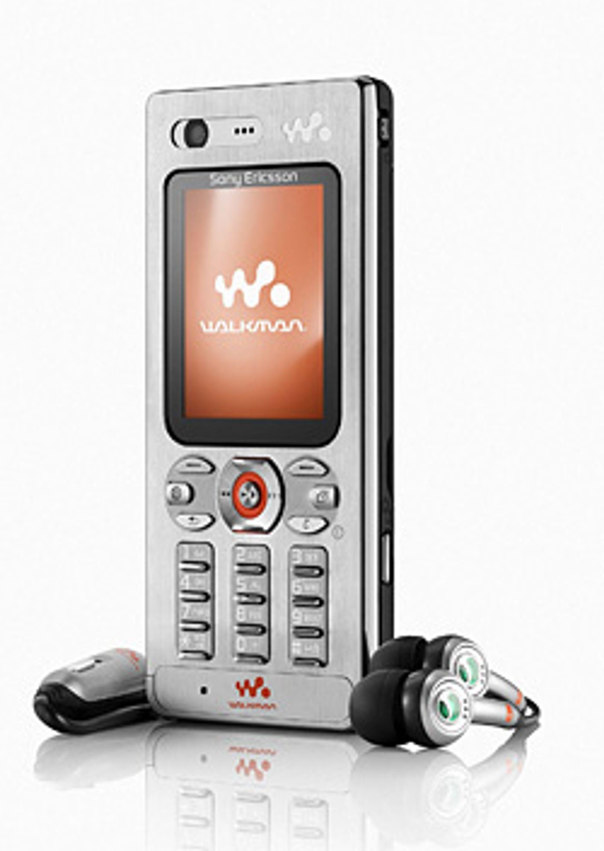 W880i i ekte Walkman-stil