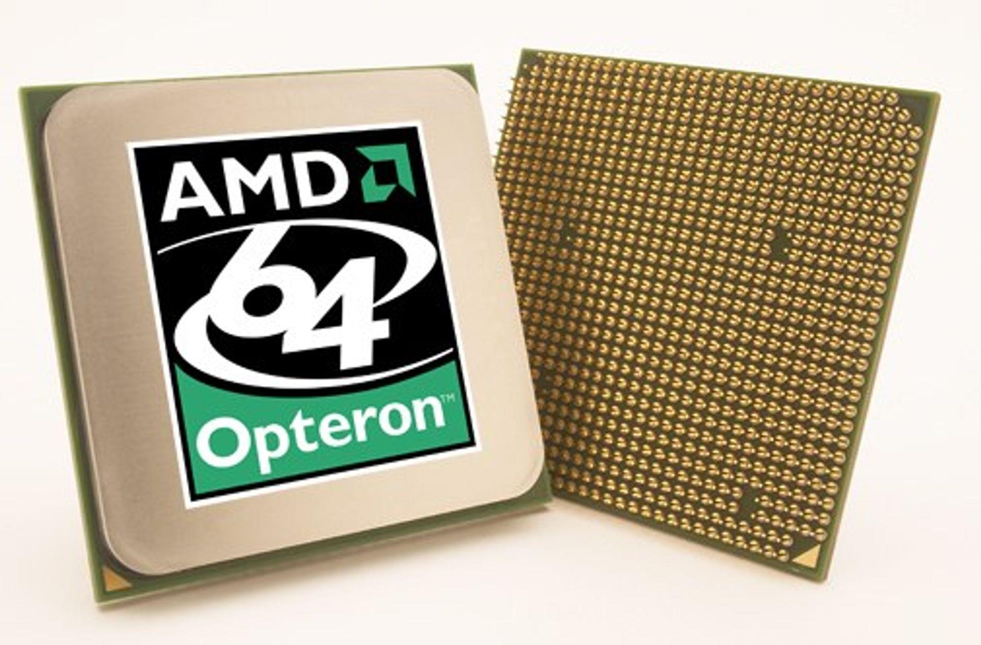 Opteron krympes til 45 nm neste år
