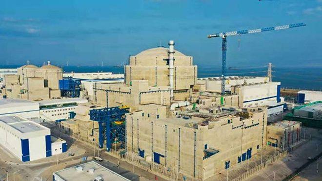 Den kinesiske atomreaktoren Hualong One.