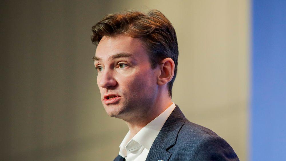 Arbeids- og sosialminister Henrik Asheim (H).