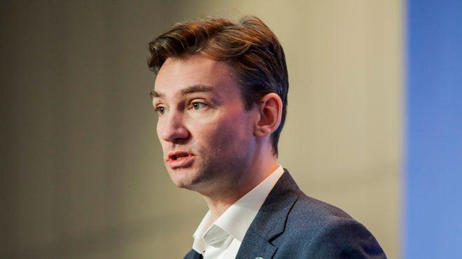 Oslo 20201125. Arbeids- og sosialminister Henrik Asheim under en pressekonferanse om koronasituasjonen. Foto: Vidar Ruud / NTB