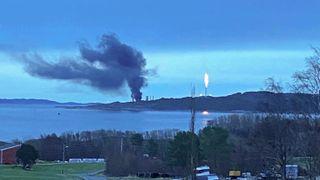 Politiet starter etterforskning av Equinor-brannen på Tjeldbergodden