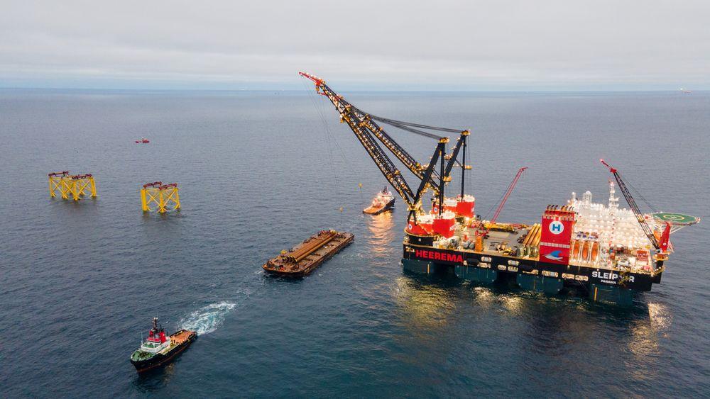 Et flertall i Folketinget har besluttet at Danmark ikke skal starte ny leteboring i Nordsjøen, og oljeutvinningen skal avvikles helt innen 2050. Her fra Tyra-feltet på dansk sokkel.