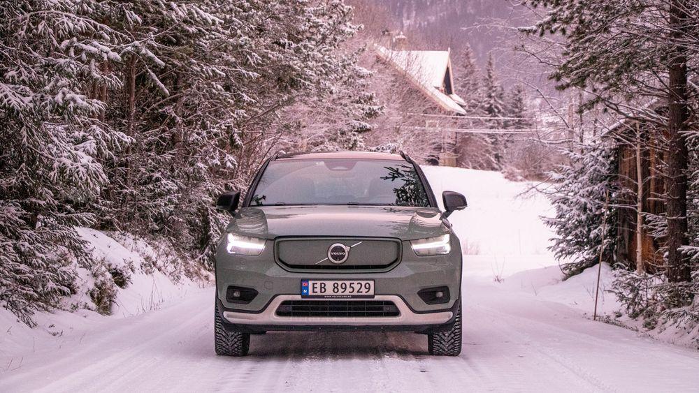 Volvo XC40 P8 Recharge er svenskenes første masseproduserte elbil.