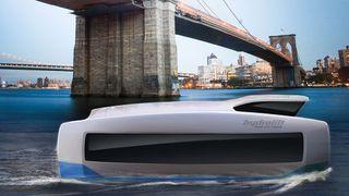 Bård Eker bak nytt, autonomt konsept: Flåter av selvkjørende ferger skal løse trafikkproblemer