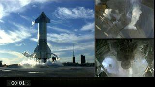 SpaceX-høydetest avbrutt i siste øyeblikk