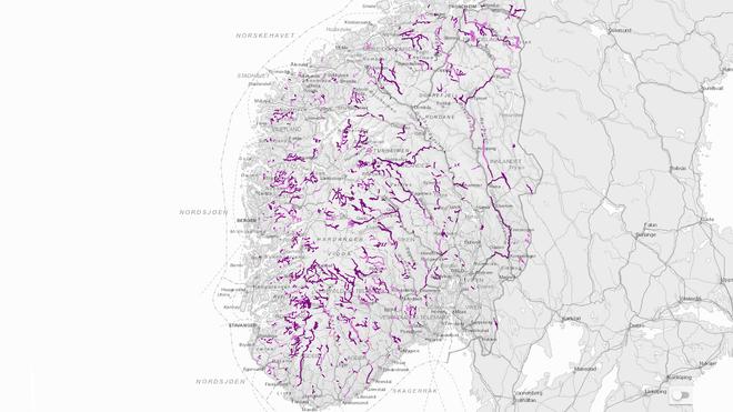 Miljødirektoratet: 1.500 vann og elver innfrir ikke EU-krav. Vannkraftverk vil ikke regnes som grønne