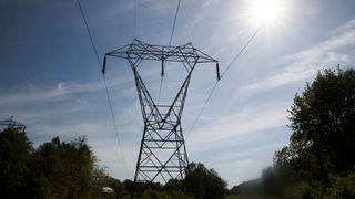 Oslo  20180520.Illustrasjonsbilde på strøm, høyspentmast, energi, energipriser, strømpriser, strømkabel.
