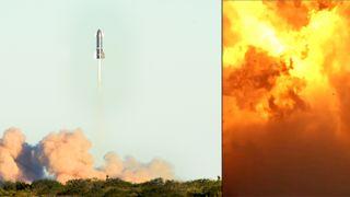 Nytt SpaceX-forsøk var vellykket og endte i ildkule