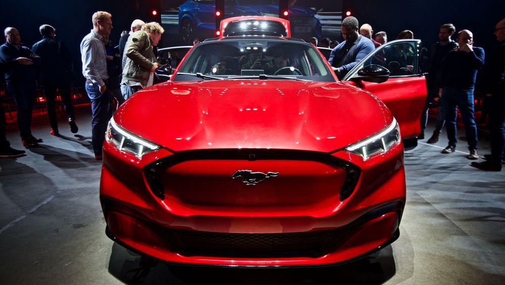 Ford Mustang Mach-e leveres til kunder i Norge fra februar 2021.