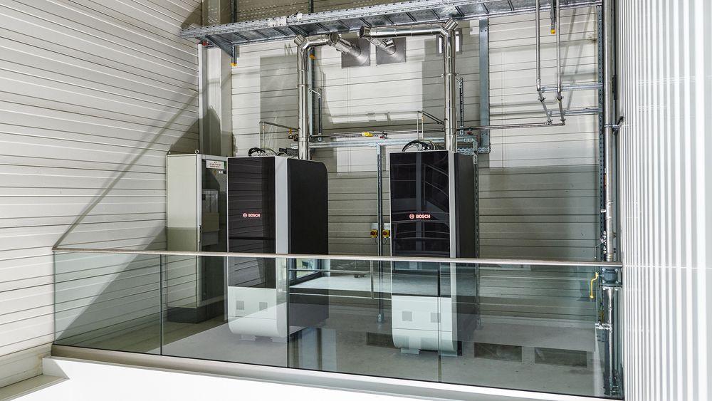 Bosch tester ut de nye brenselcellene som kan kobles sammen avhengig av behov for strøm og varme.