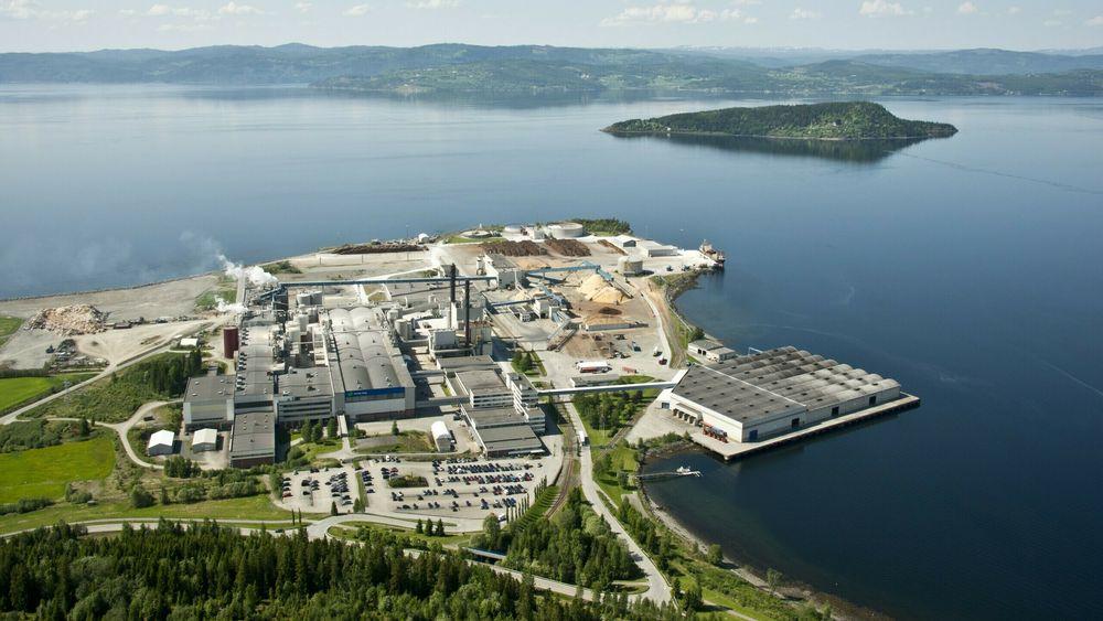 ABB digitaliserer Norsk Skogs papirfabrikk på Skogn