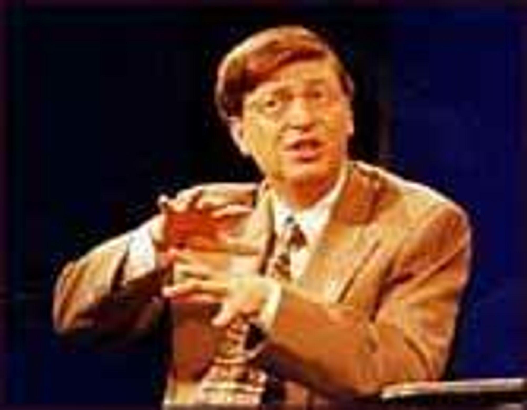 Bill Gates på Comdex 97.